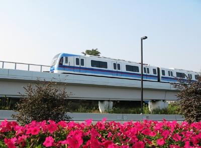 Urban Rail Outside of beijing